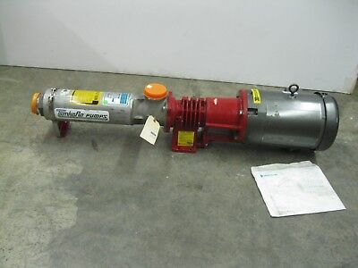 "3"" Tonkaflo SS8506D-85100 Multi-Stage Centrifugal Pump 10 HP Motor NEW R23 (2371"