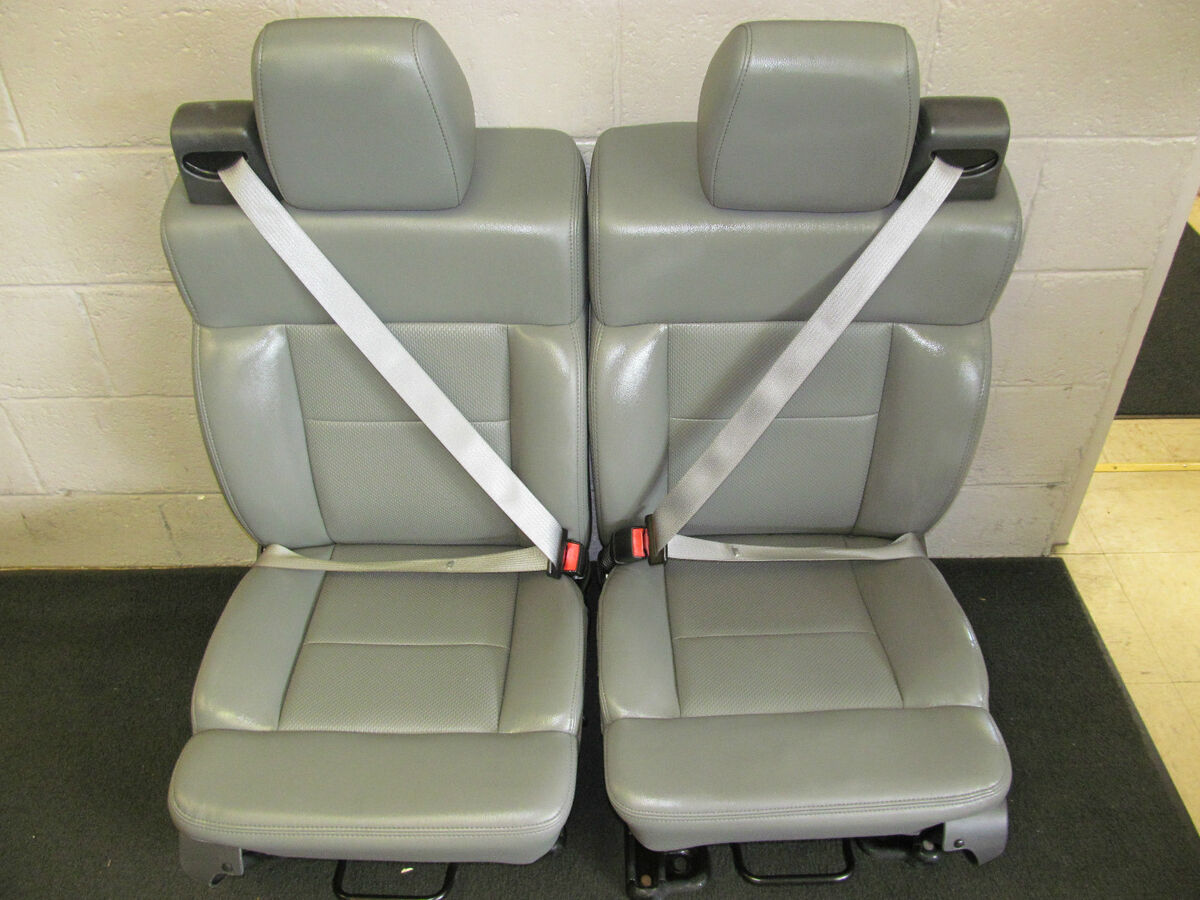 Front Bucket Seats for Ford F 150 Pickup Truck Work Truck Vinyl