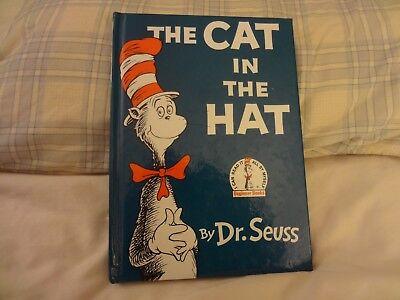 THE CAT IN THE HAT .  BY DR. SEUSS . HC .  9.25 x - The Cat In The Hat Dr Seuss