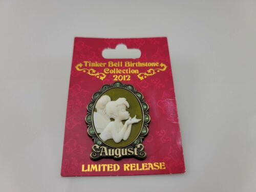 2012 Disney Tinker Bell Birthstone August Pin Limited Edition