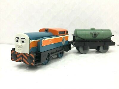 Thomas the Train & Friends TrackMaster - DEN and Diesel Works Tanker Car - Rare!