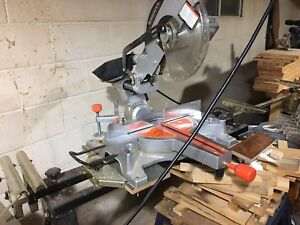 """Miter saw 12"""" for sale with miter saw stand"""