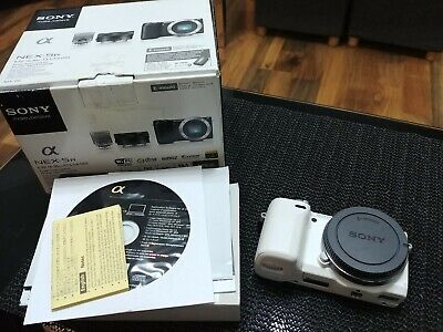 Sony Alpha NEX-5R 16.1MP Digital Camera - White (Body Only)