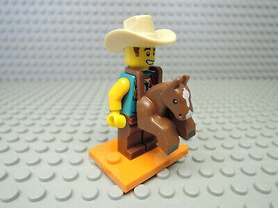 Lego 71021 Minifiguren Serie 18 - 15 Mann im Cowboykostüm   NEU - Holzfäller Kostüm Mann
