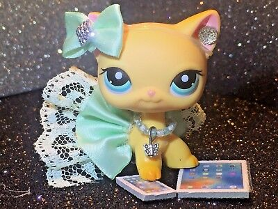 Littlest Pet Shop Clothes LPS Accessories CUSTOM Outfit Minty Fresh NO CAT/DOG