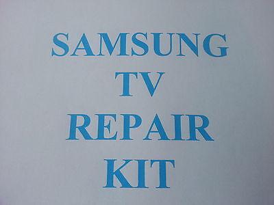 Samsung LE40R74BD LE40R73BD , PSU repair kit clicking & slow BN44-00134A