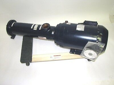 New Seepex Bw10 Cast Iron Wobble Pump W 5hp 3ph 208-230460 Weg Motor
