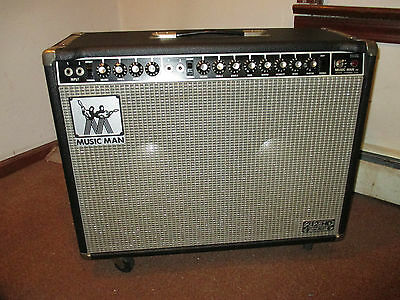 Music Man Guitar Amps - MUSICMAN GUITAR AMP 212 ca 1974 NEAR MINT ORIGINAL OWNER