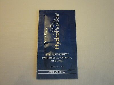 HydroPeptide Eye Authority Eye Cream Dark Circles Puffiness Lines Travel Sample