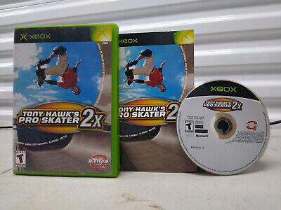 Tony Hawk's Pro Skater 2X [COMPLETE] (Microsoft Xbox, 2001)