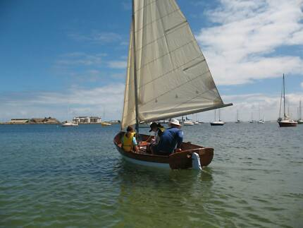 Wooden Sailing Dinghy - 'Shearwater' design