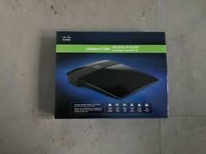 Linksys E1200 Wireless-N Router (NEW IN BOX)