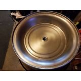 """LOT OF 6-12 1/2"""" STAINLESS STEEL SERVING CATERING RESTAURANT PLATE FOOD COVERS"""