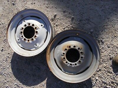 Ford 8n Tractor 16 X 4 12 Press Style Front Rim Rims For Tire To Hub