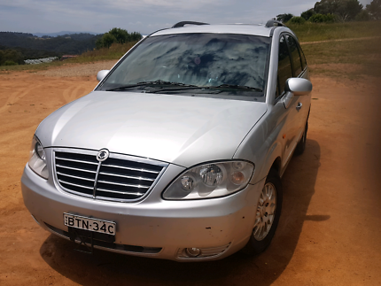 Ssangyong Stavic 2008 7 Seater Diesel