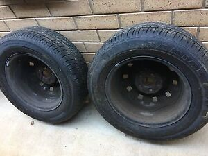 2x 195/65R14 Car Tyres Greenwith Tea Tree Gully Area Preview