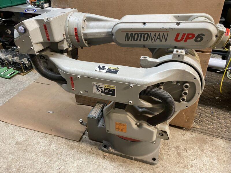 YASKAWA MOTOMAN UP6 ROBOT ARM YR-UP6-A02 Complete FAST SHIPPING