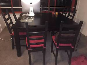 Square Dining table and 8 Chairs Bondi Beach Eastern Suburbs Preview