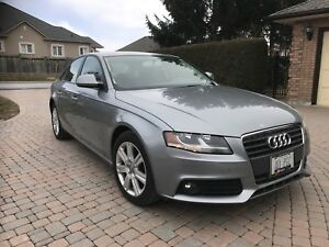 Audi A4 emission and certified