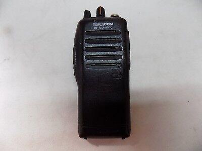 Icom Bearcom Ic-f21s Uhf 2 Ch 4 Watt Radio No Battery Or Charger