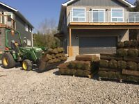 Sod removal and installation services