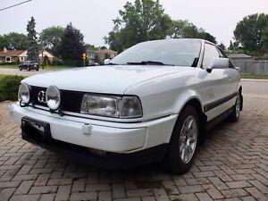 1990 Audi coupe quattro
