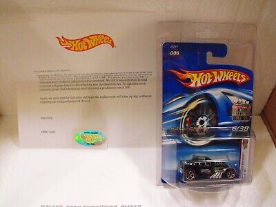 HOT WHEELS 2006 FIRST EDITIONS BONE SHAKER COLLECTORS.COM APOLOGY CAR FACTORY SE