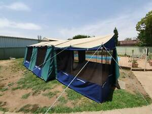 Great Outdoors Hacienda 3 Room Canvas Tent
