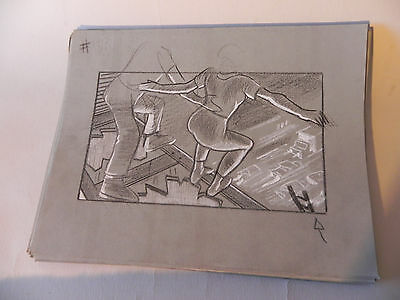 HONEY I BLEW UP THE KID 1992ORIGINAL STORYBOARD ART CARL ALDANA#115