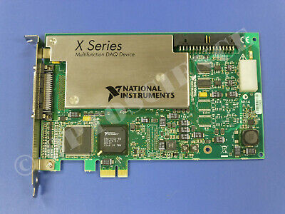 National Instruments Pcie-6351 Ni Daq Card X-series Multifunction