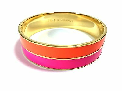 Kate Spade Take A Chance Bangle NWT Perfect Pink Banded Beauty!