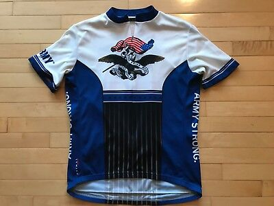 Primal Wear US Army Strong Cycling Jersey Mens Short Sleeve Sz XL Crest  Eagle 9a4232972