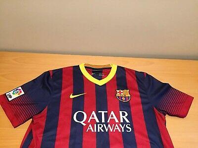 e5887f789d5 Nike Lionel Messi Barcelona FC #10 DriFit Soccer Jersey Mens L - FREE  SHIPPING
