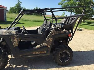 Rear seat and roll cage  for Rzr.