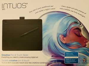 Intuos Art Wacom Tablet 10.8 x 8.5: Used once & in the Box