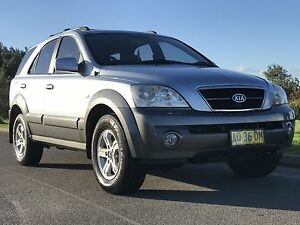 Kia Sorento 2004 SUV 4x4 Caves Beach Lake Macquarie Area Preview