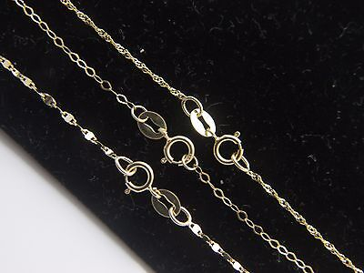 Solid 10k yellow gold Anklet 3 DESIGN to Choose Rope anklets in 8.5