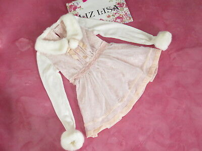 Liz Lisa Organza Dress Lolita Hime Gyaru shibuya109 Very Cute (k432)