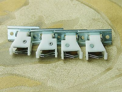 (FOUR Cord Locks with Brass Wheels for Roman shades and pleated shades)