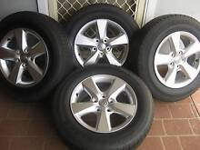 """GENUINE  TOYOTA RAV 4/HILUX ALLOY WHEELS/TYRES 16""""SET OF 4 Liverpool Liverpool Area Preview"""