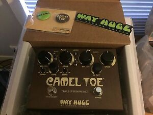 Way Huge Guitar Effect Pedals - Camel Toe, Supa Puss, Blue Hippo Mount Colah Hornsby Area Preview