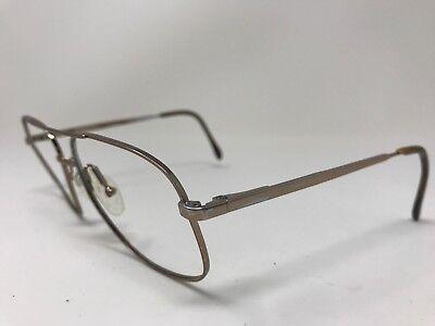 Sketch LG Aviator Eyeglasses Spring Nose Pads 60-17-145 Brown LOTS OF WEAR GL91