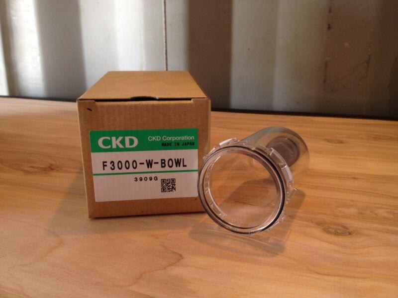 CKD F3000-W-BOWL - manual drain bowl