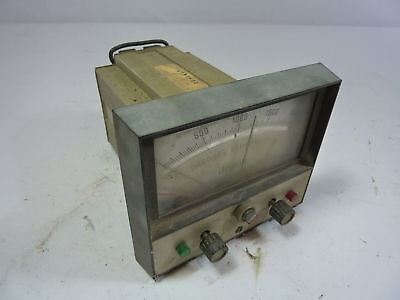 Jewell 370879-005 Temperature Panel Meter Used