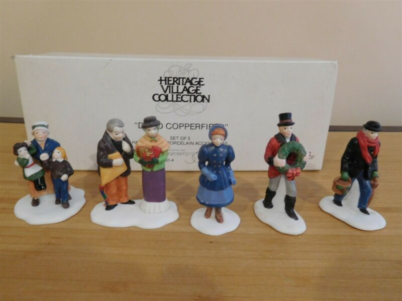 Dept 56 Dickens Village - David Copperfield - Set of 5 - Free Shipping