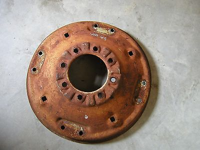 Alis Chalmers Wd45 Tractor Nice Original Rear Factory Spin Out Wheel Center Hub