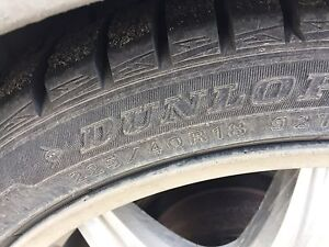 New Low pro Dunlop winter tires / Sony blue tooth & Car
