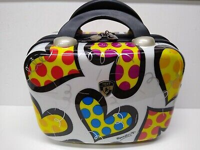 Heys Luggage Britto Hearts Carnival Small travel Cosmetic Utility bag