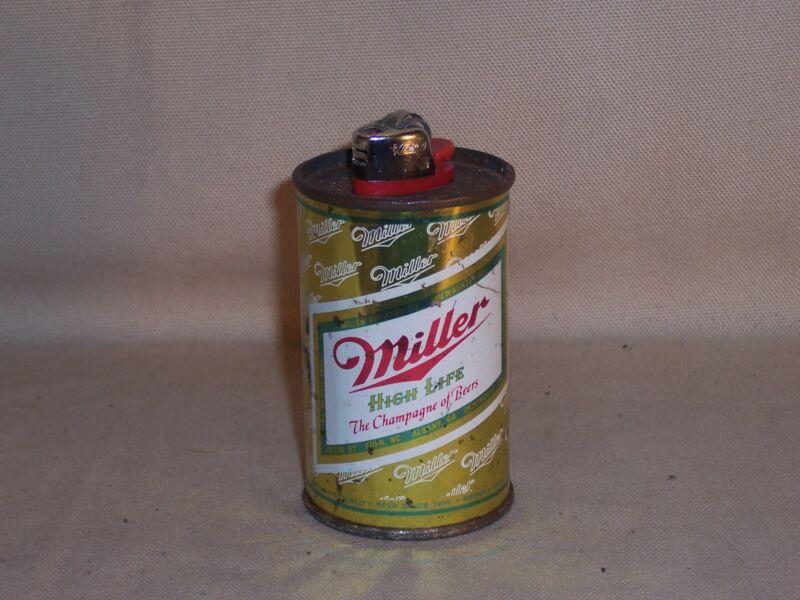 Vintage Miller High Life Beer /Cigarette Lighter Holder Collectible Breweriana