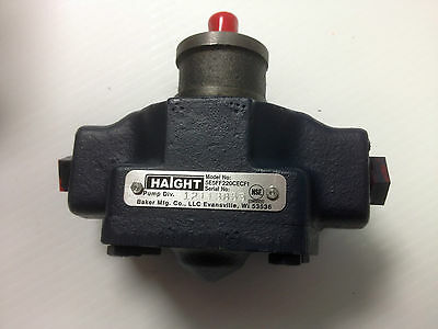 Haight Fryer Filter Pump For Broaster -part 09273